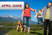 We Dare You: April Dare / This April #WeDareYou to share a photo of how you spend time with your family. You could win a $400 gift card! wedareyoutoshare.com / by Source4Women