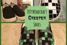 Minecraft / From party ideas to kid crafts - it's Minecraft everything!