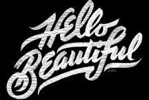 typography love / by joanne reidy
