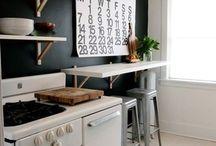 Black boards / Black board / chalk board inspiration and ideas