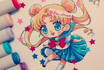 Chibi / Illustration Chibi Cute Kawaii Magnificent