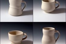 Pottery mug SHAPES