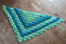fluffy meringue shawl