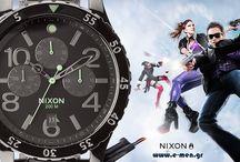 Nixon Watches / Υπέροχα σχέδια από υπέροχα υλικά! Ρολόγια για ψαγμένους και όχι μόνο.