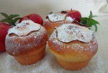 jablkove mafinove buchty