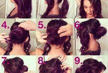 Hair look  / A hair look