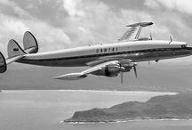 B&W vintage aircraft