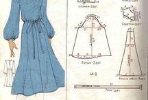 Платья 80-х годов