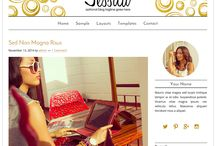 Gold Blog Designs