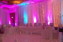 White Wedding /  A recent wedding we had here in the Osprey Hotel + Spa. The Ballroom looked beautiful in white