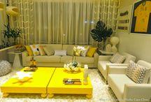 Decoração Verde e Amarelo para Copa!!! / Veja + Inspirações e Dicas de decoração no blog!  www.construindominhacasaclean.com