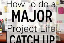 Project Life Inspiration / All things Project Life