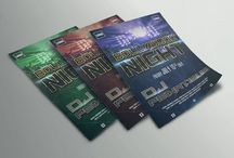Party Poster Designs