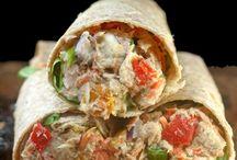 Loaded chicken salad / Sandwiches