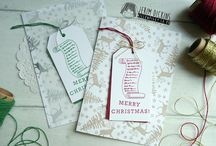 All about Christmas, Handmade by Jerim Dickins - Willowpiggy / Christmas Cards, 3D project... :-)