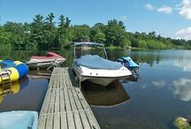 37 North Road, Epsom NH / Rarely do you find 500feet of private and pristine shore line on any lake. Over 350 feet of private Tuscany lite pathways include an arched bridge  that leads you to a private deck and dock (that doesn't need removing from water). Sandy beach, views and views. Northwood Lake allows for, jet skis, skiing and power boats. Northwood Lake is a Loon Sanctuary and has some of the cleanest and safest water in NH to enjoy. Owned by a kitchen designer and it shows. Italian Carrera Marble and more