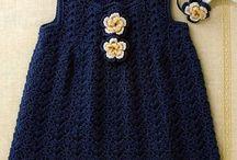 ropa bebe a crochet