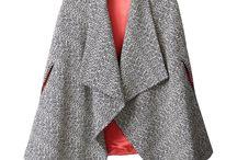 poncho tweed