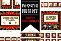 Movie Birthday Party Inspiration / by T Biswas