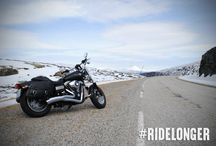 How do you #RideLonger? / Don't sacrifice comfort for self-expression this winter season. Pin these cold-weather options to your wishlist. / by Harley-Davidson