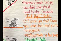 """Just right books"" anchor charts"