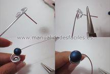wire jewelery / τύλιγμα χάνδρας μεσύρμα