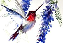 watercolor cards / by Barbara Gillispie