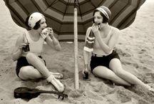 Vintage plaża