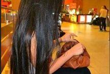 شعر طويل جدا