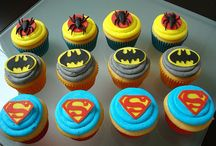 Super hero cupcakes / by Mari Jackson