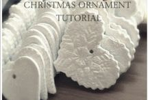 homemade Christmas ornaments and ideas