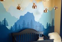 baby boy nursery balloon