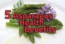 Asparagus benefits and recipes