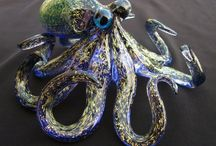 Collection of octopusses / different octopuses, inspirations