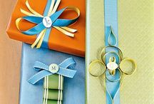 Creative Gift Wrapping / All occasion gift wrapping ideas.  / by Anita