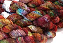 Wool colourways