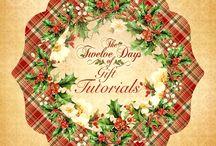 The Twelve Days of Gift Tutorials