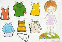 MANUALIDADES / Actividades para infantiles, recortar, mariquitinas, ...