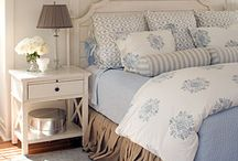 Blue country bedroom / by Deirdre DeCaro