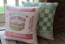 Pillows / by Cheryl Hatfield