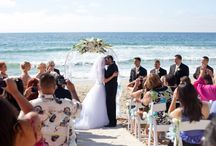 Monterey Beach Weddings / Monterey Beach Weddings company helps couples with the set-up of their ceremony needs at several beautiful ocean & bay view locations.