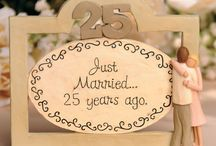25th Wedding Anniversary / by Tina Parker