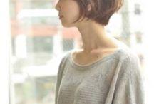 kurze Haare /Haarfarben