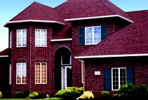 Homes Featuring Brick / Brock White Company's brick products include major brands such as General Shale brick, Belden brick, and Hebron brick.  All of these masonry bricks are available in a selection of colors and textures to meet your brick masonry job requirements.