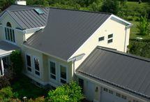 Charcoal Gray Metal Roof
