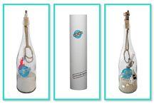 AziBi-iBizA Flessenpost / Uniek kado! Jouw persoonlijke boodschap en een cadeautje voor jouw allerliefstelief, kind,  moeder, vader, vriend(in) of heel gewoon voor jezelf, verpakt in deze stoere fles.