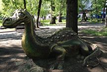 Moscow Playgrounds and Parks