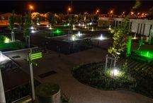 Borneo® - Eclairage LED des espaces paysagers / Réalisations Eclairage LED des espaces paysagers et urbains