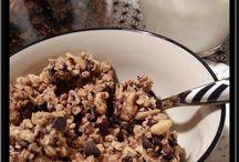A base de céréales / Granola, barre de céréales