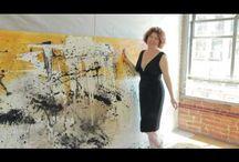 Studio visits / Artist showcase their work process